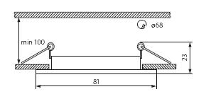 navi ctx-ds10 rysunek techniczny