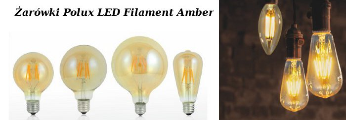 Żarówki LED filamenty
