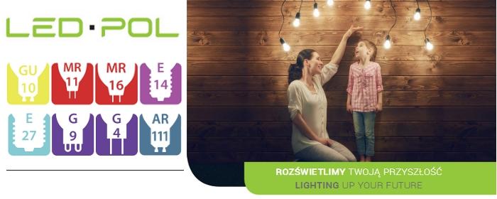 Nowe ceny żarówek LED-POL, żarówki już od 5,20zł